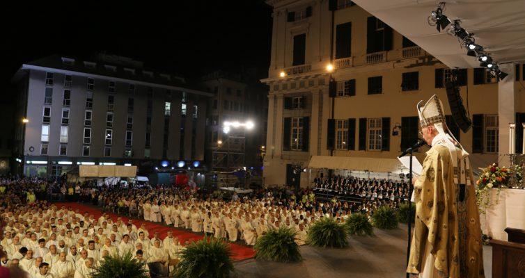 XXVI Congresso Eucaristico Nazionale: grande partecipazione alla S. Messa di apertura