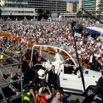 Papa Francesco a Genova – La Corale Don Piero Benvenuto alla Messa Conclusiva in Piazzale Kennedy