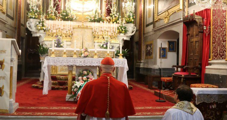 Celebrata l'inaugurazione dell'Anno Santo Giubilare per il 500° Anniversario delle Apparizioni.