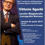 VITTORIO SGARBI – Lectio Magistralis sull'Iconografia Mariana