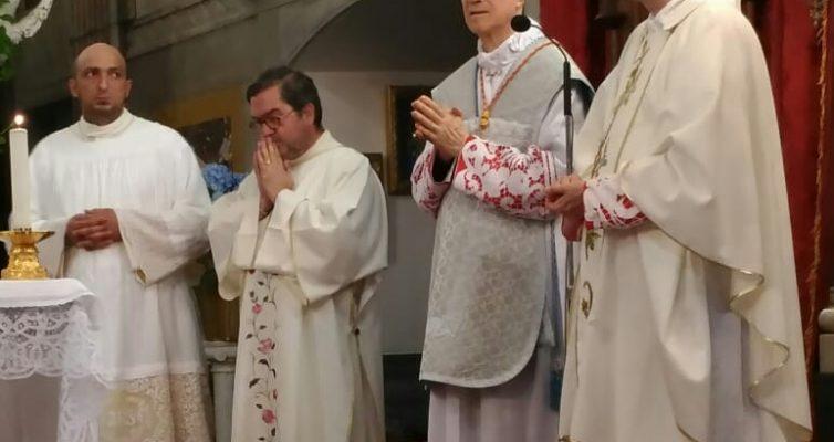 Il Cardinale Bertone alla chiusura dell'Anno Giubilare al Santuario