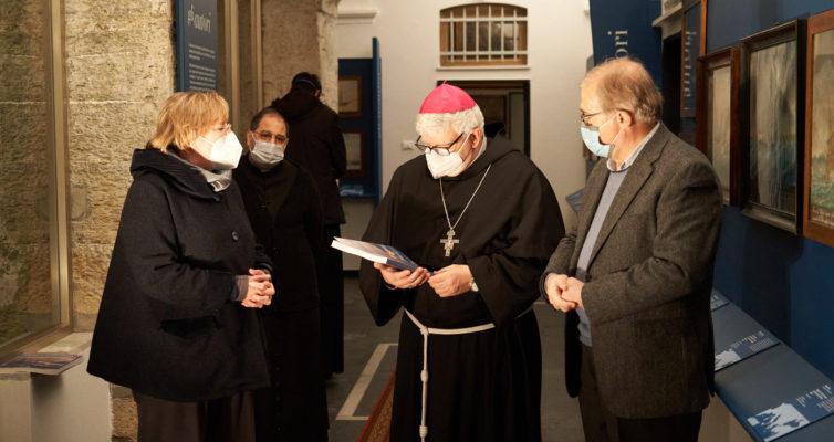 L'arcivescovo Mons. Tasca visita gli Ex Voto