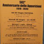 FESTEGGIAMENTI DEL 2 LUGLIO 2020